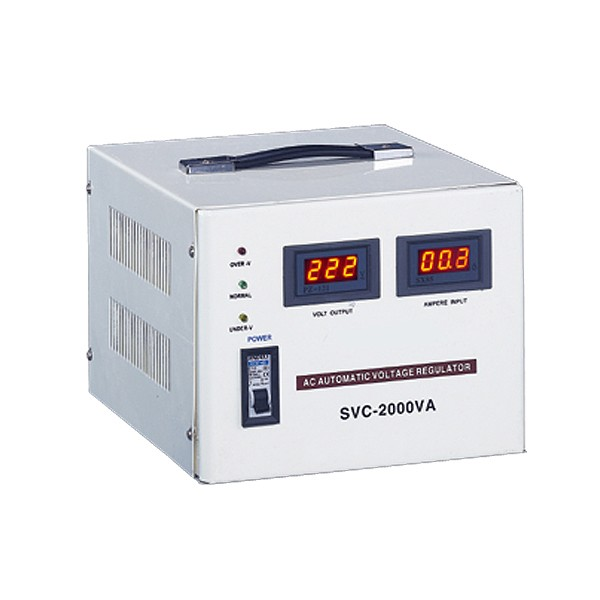 SVC Automatic Voltage Stabilizer (LED, Single Phase)