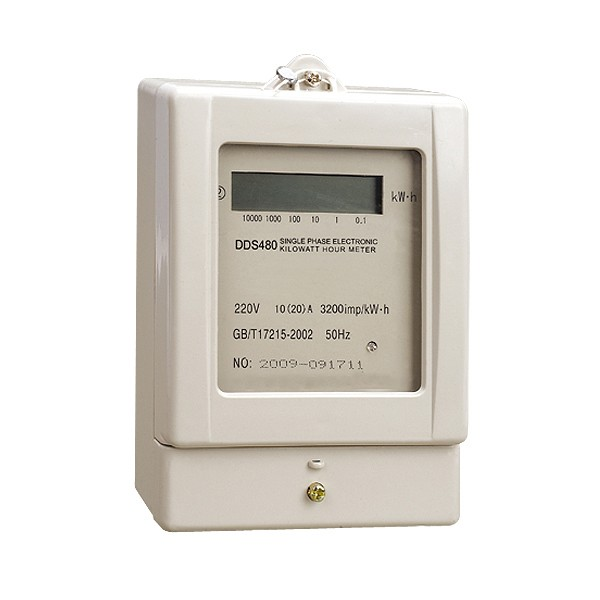 DDS480 Electronic Kilowatt Hour Meter (Single Phase)