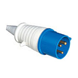 16A/32A Industrial Plugs IP44 (Caravan)