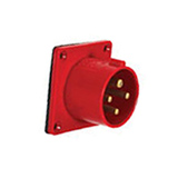 16A/32A Industrial Plug IP44 (Panel mounting)