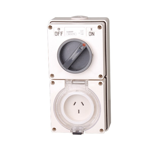 56CV series Combination Switched Sockets IP66